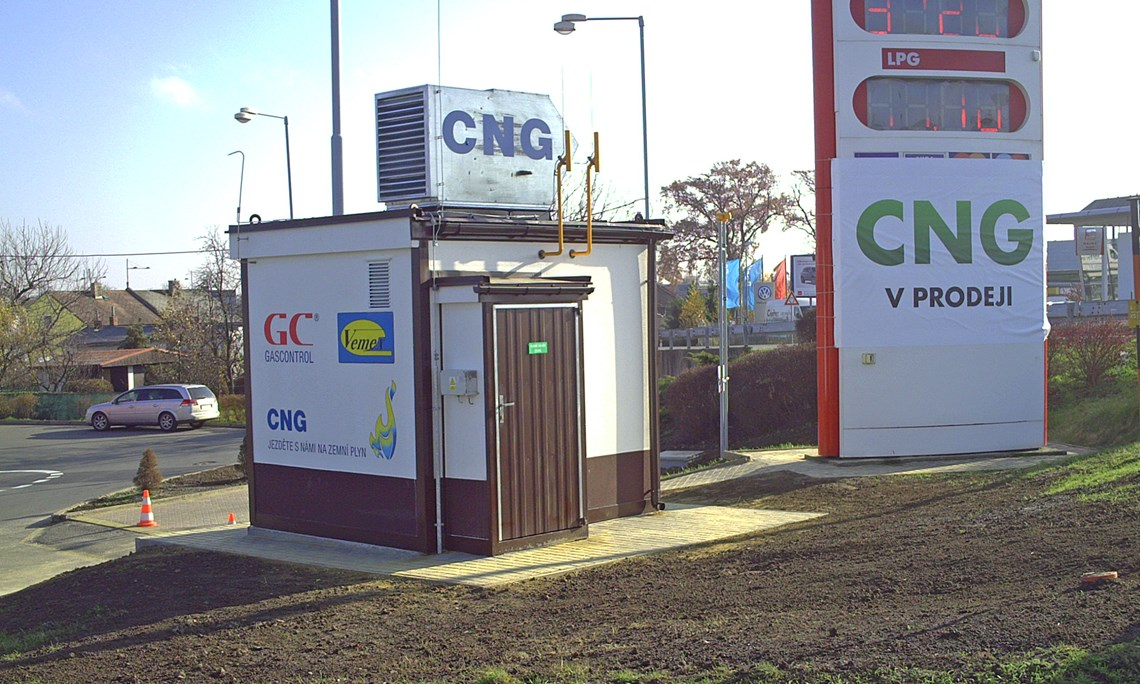 CNG stanice<br><br>Opava
